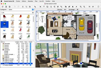 Sweethome 3d 35 Plexe Projektowanie Architektoniczne