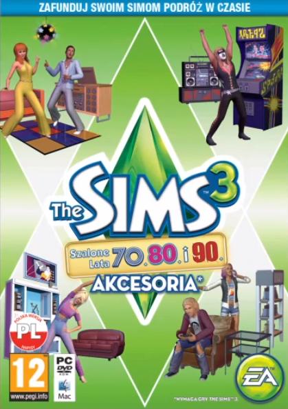 The Sims 3 Szalone Lata 70 80 90 Akcesoria The Sims 3