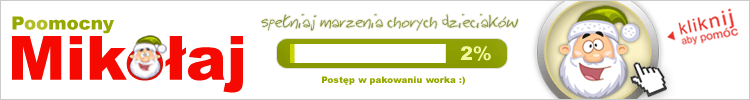 Pajacyk, Okruszek, Polskie Serce, Habitat, Marzenia - Kliknij i Pomóż