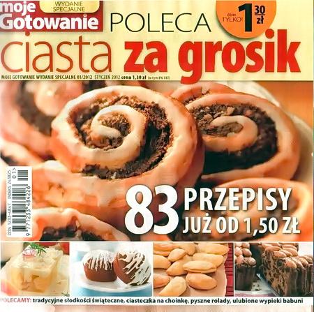 2012 N01 Moje Gotowanie Ws Ciasta Pdf Moje Gotowanie Przepisy
