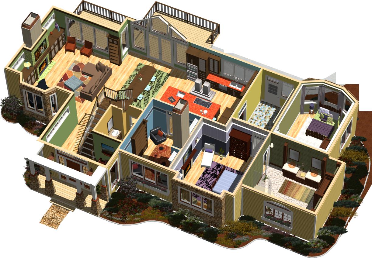 Ashampoo Home Designer Pro to profesjonalne oprogramowanie służące do projektowania CD, dzięki któremu możemy zaprojektować i umeblować dom, mieszkanie, czy też sam pokój. Do przygotowywanego projektu wykorzystać możemy szeroką gamę elementów, jak również obiektów, materiałów i tekstur z ogromnego katalogu.  Korzystając z tego programu zbudować można design całej nieruchomości. Niemal realistycznie ukształtowanie wzniesienia, stoki i dołki. Z pomocą odpowiedniego edytora dodać można tarasy, ścieżki i klomby kwiatów. Do osobnego projektu ogrodu dostępne są również katalogi mebli ogrodowych i roślin.   Ashampoo Home Designer Pro udostępnia widoki 3D i 2D , aby można było wygodnie oglądać rezultaty pracy. Dzięki nim nie tylko obejrzymy realistyczny widok projektu w 3D, ale również dokładne plany projektu, który następnie możemy wydrukować lub zapisać w różnych formatach plików graficznych.